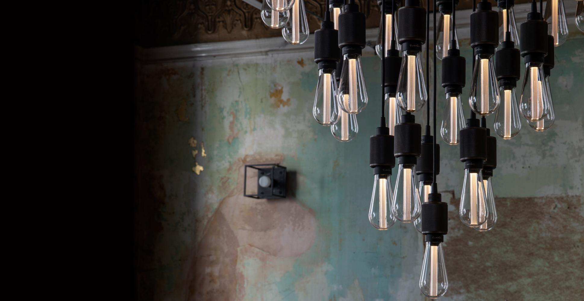 Heavy Metal Chandelier Statement ceiling light