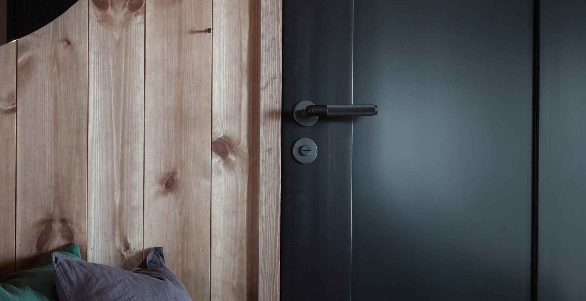 Black Door Handles >> Door Lever Handles | Steel, Brass, Smoked Bronze Handles, Door Latches | Buster + Punch