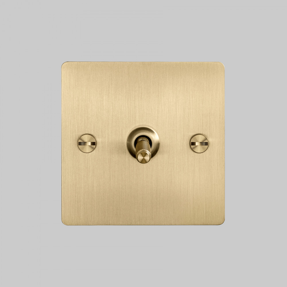 1G TOGGLE SWITCH / BRASS