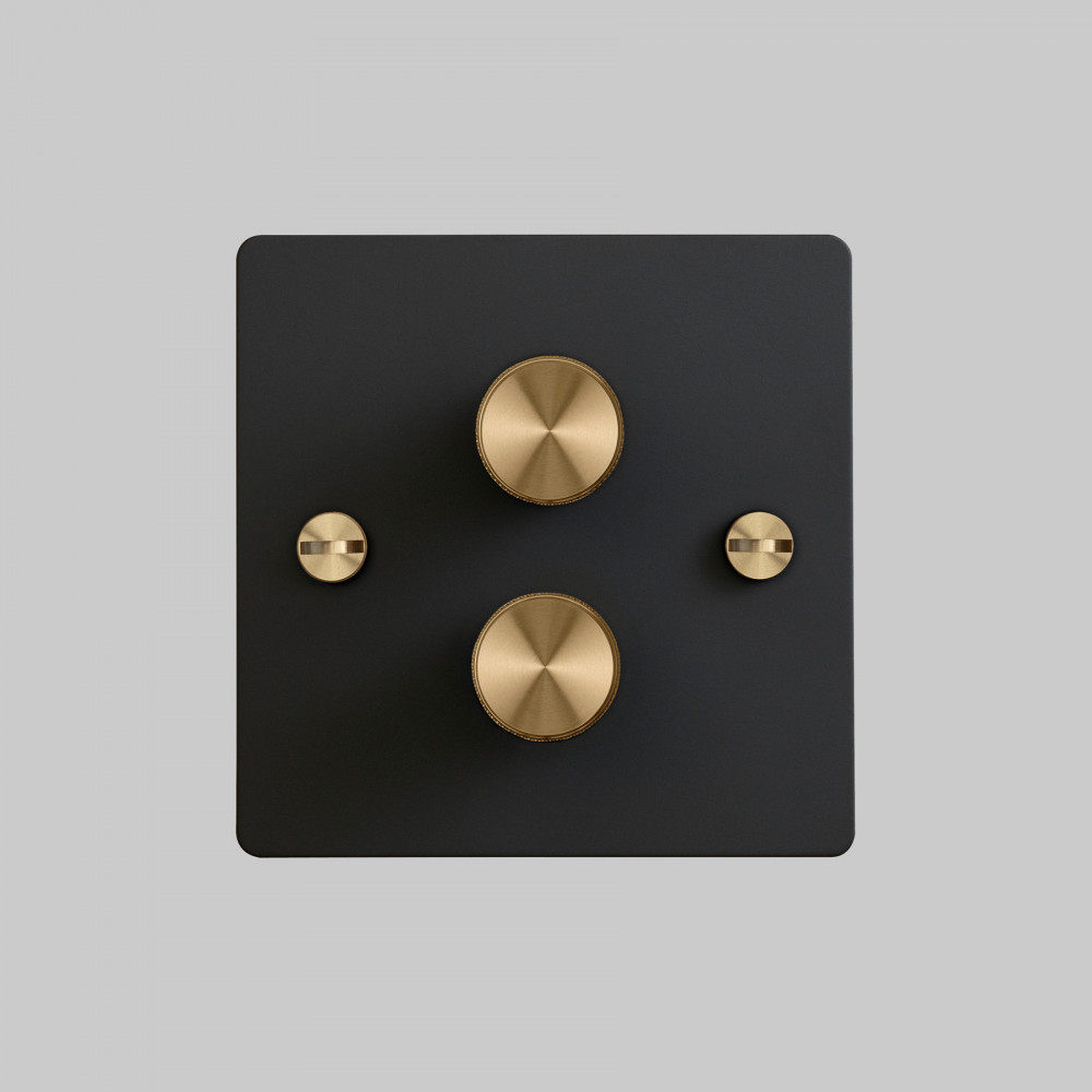 2G DIMMER / BLACK / BRASS