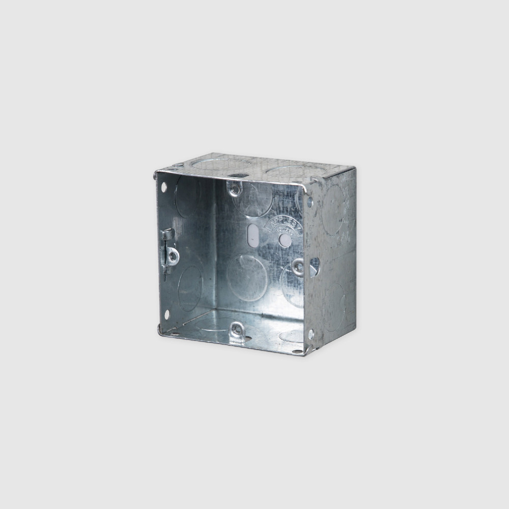 ELECTRICITY 1G METAL BACK BOX 47mm
