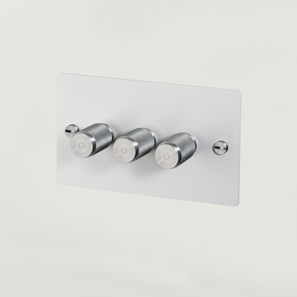 3G DIMMER / WHITE / STEEL