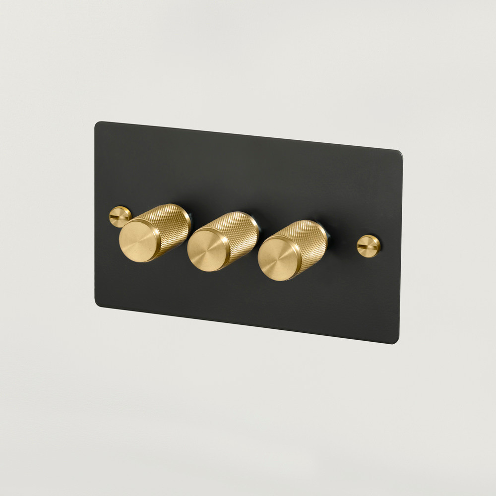 3G DIMMER / BLACK / BRASS