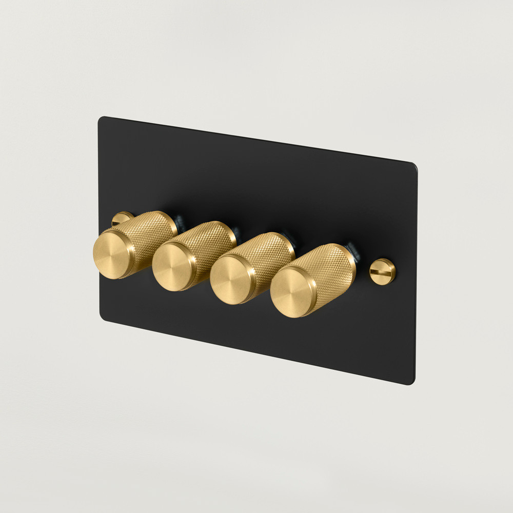4G DIMMER / BLACK / BRASS