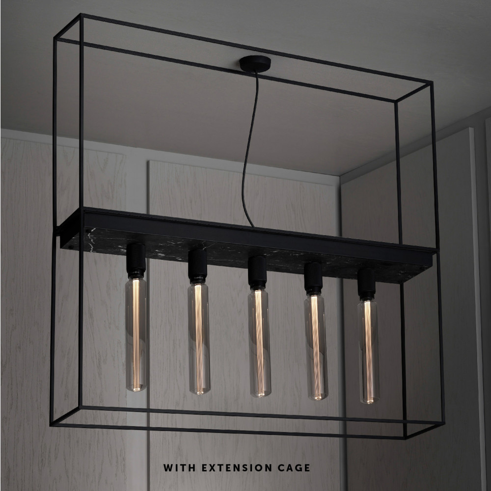 CAGED CEILING 5.0 / BLACK MARBLE