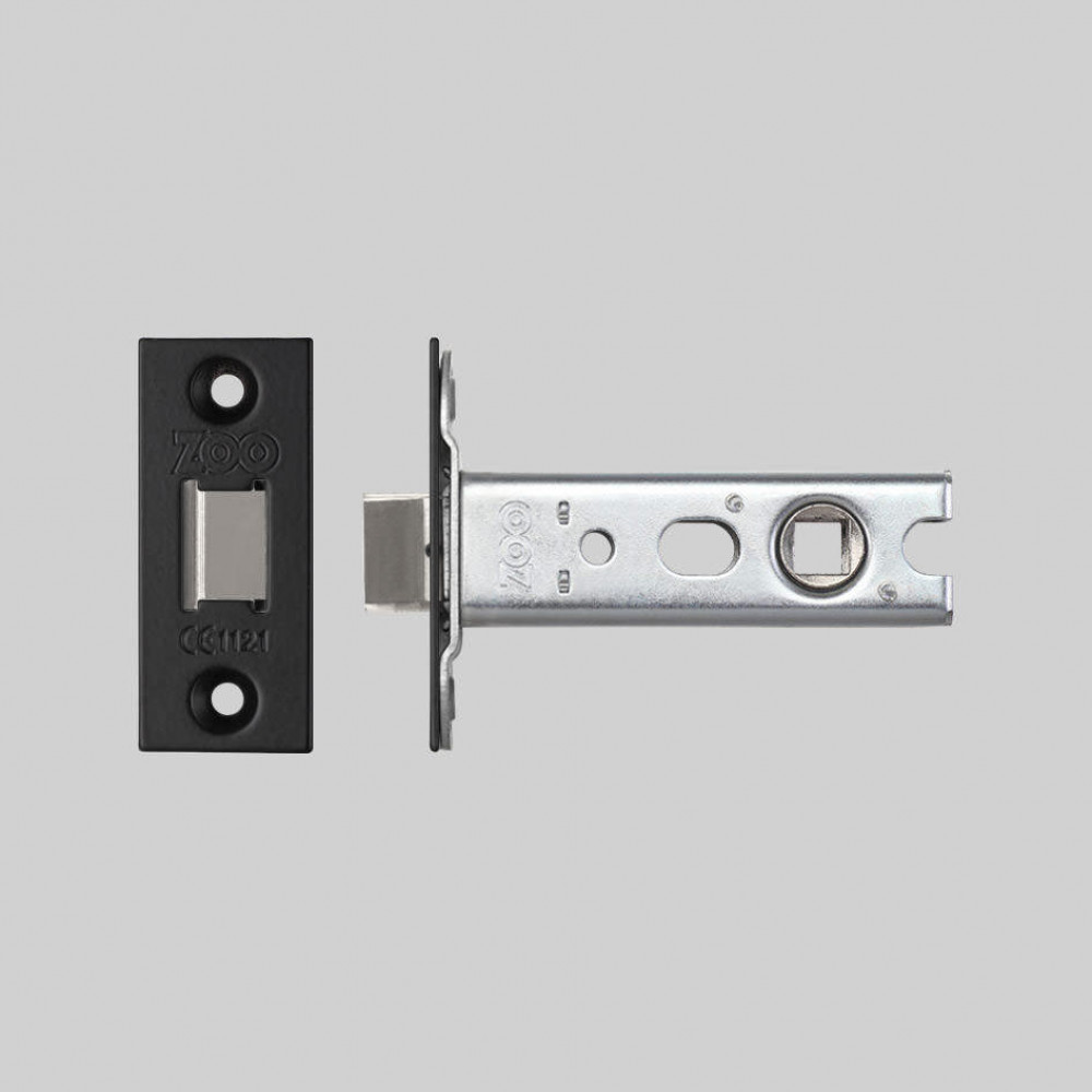 DOOR LEVER LATCH / BLACK