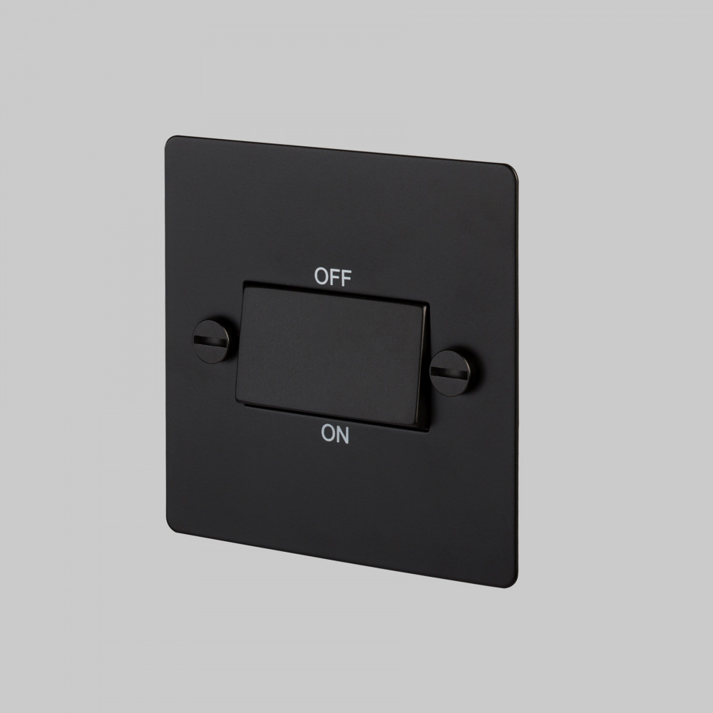 FAN ISOLATOR SWITCH / BLACK