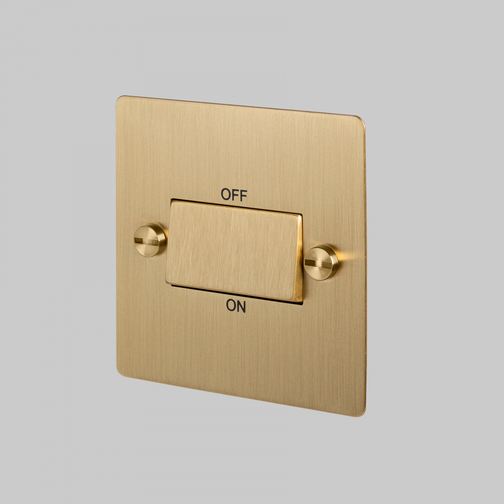 FAN ISOLATOR SWITCH / BRASS