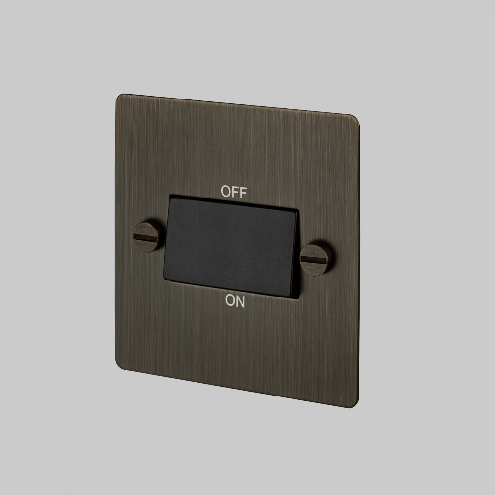FAN ISOLATOR SWITCH / SMOKED BRONZE