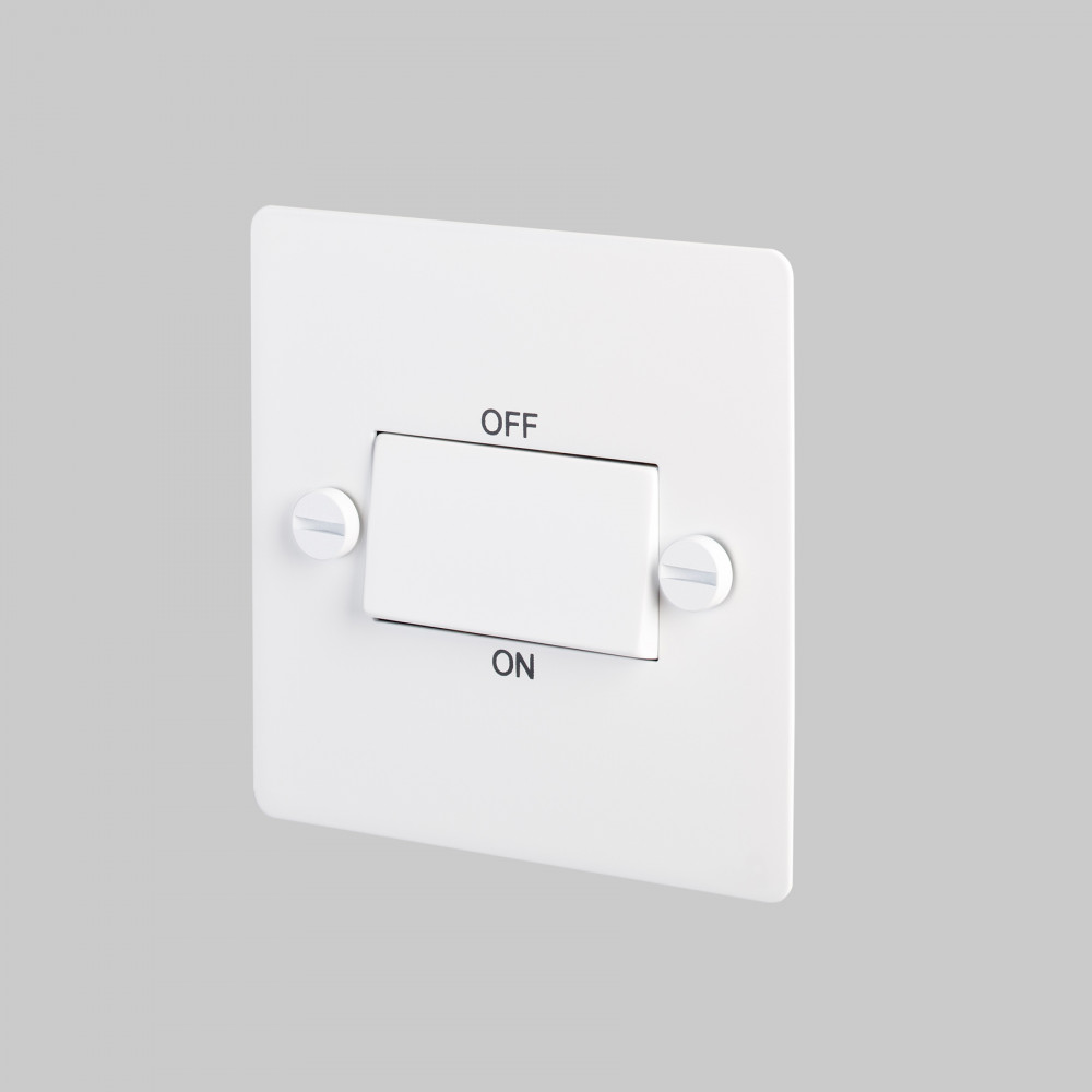 FAN ISOLATOR SWITCH / WHITE