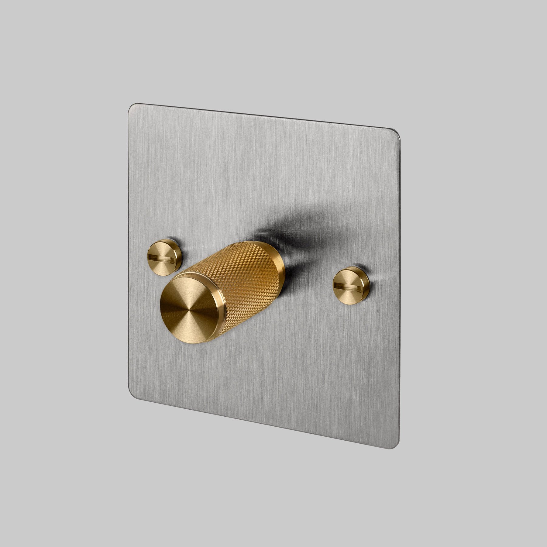 1G DIMMER / STEEL / BRASS