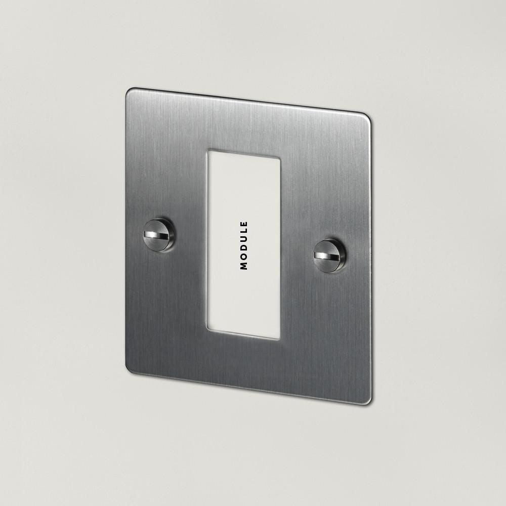 1G EURO PLATE - 1 MOD / STEEL