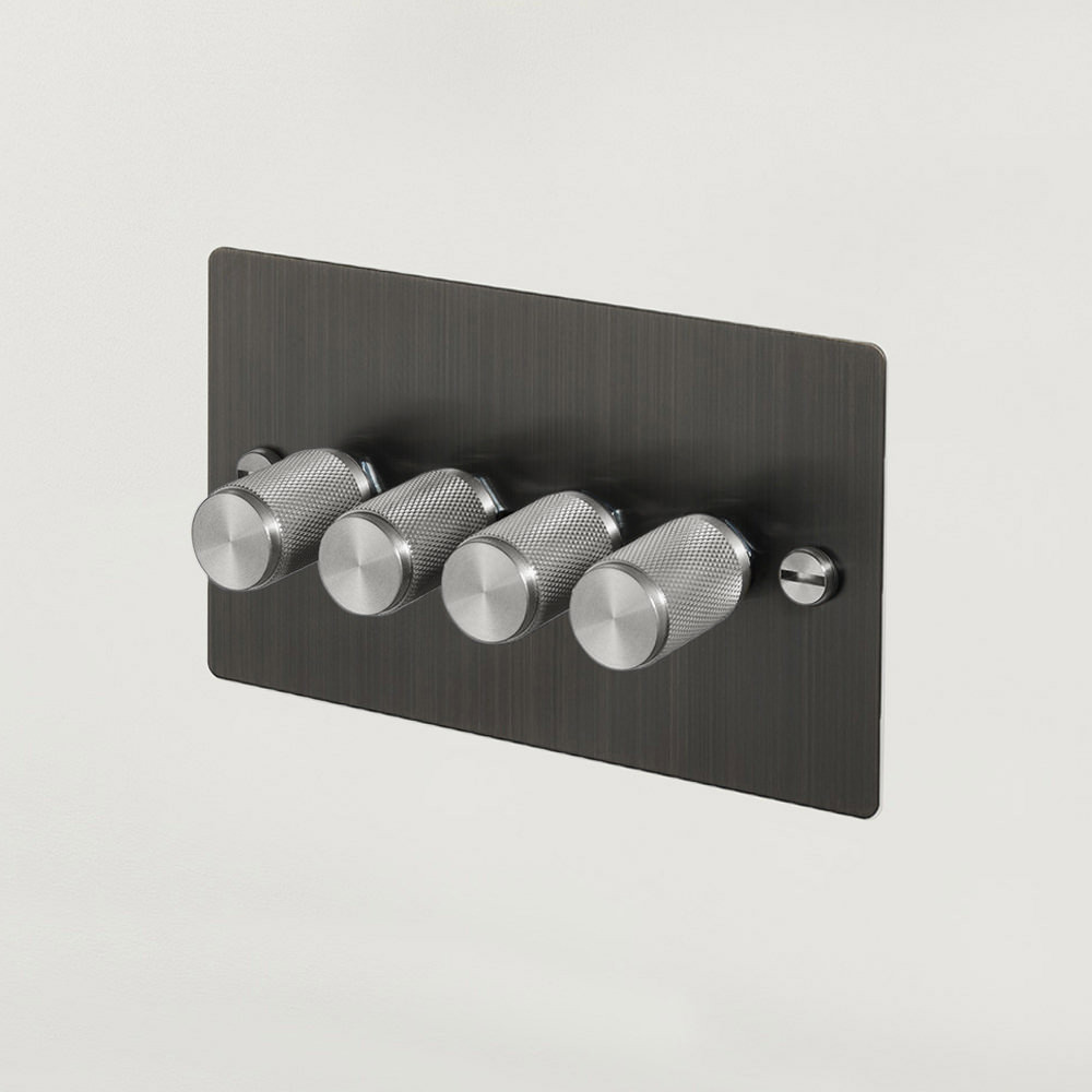 4G DIMMER / SMOKED BRONZE / STEEL