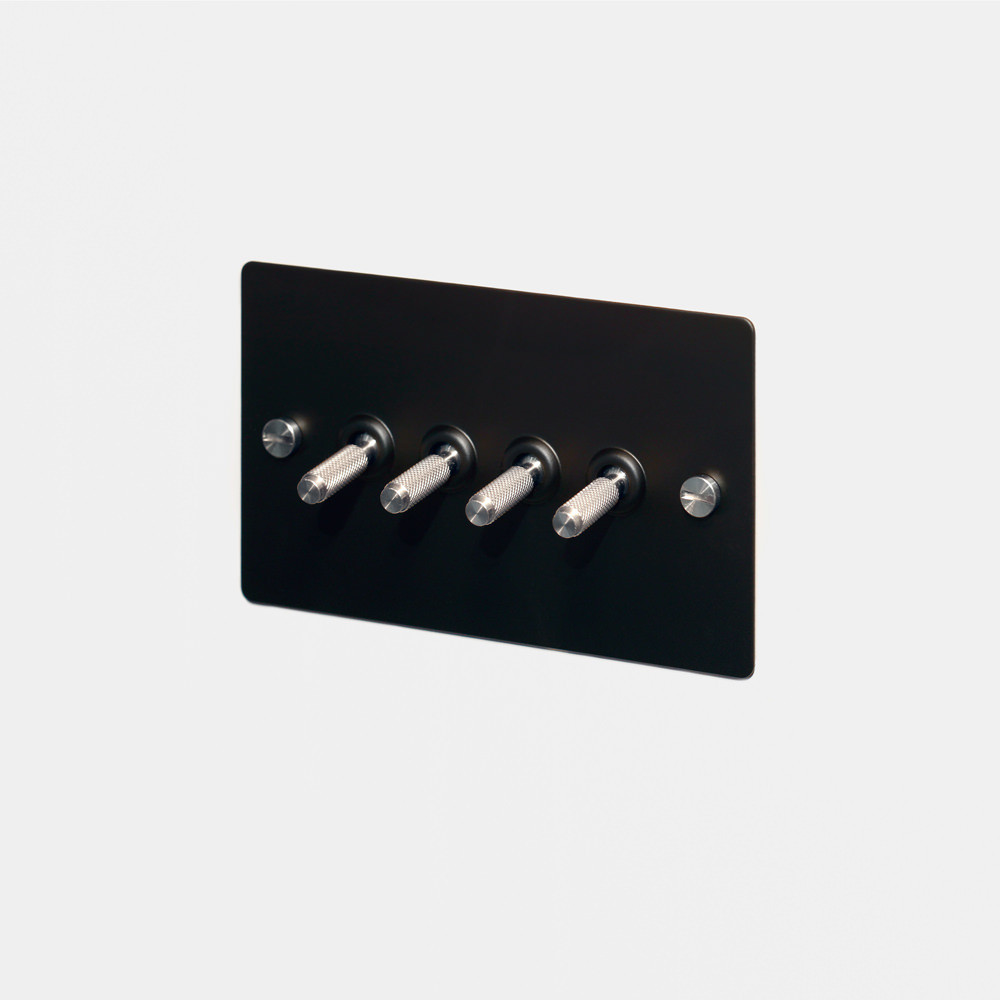 4G TOGGLE SWITCH / BLACK / STEEL