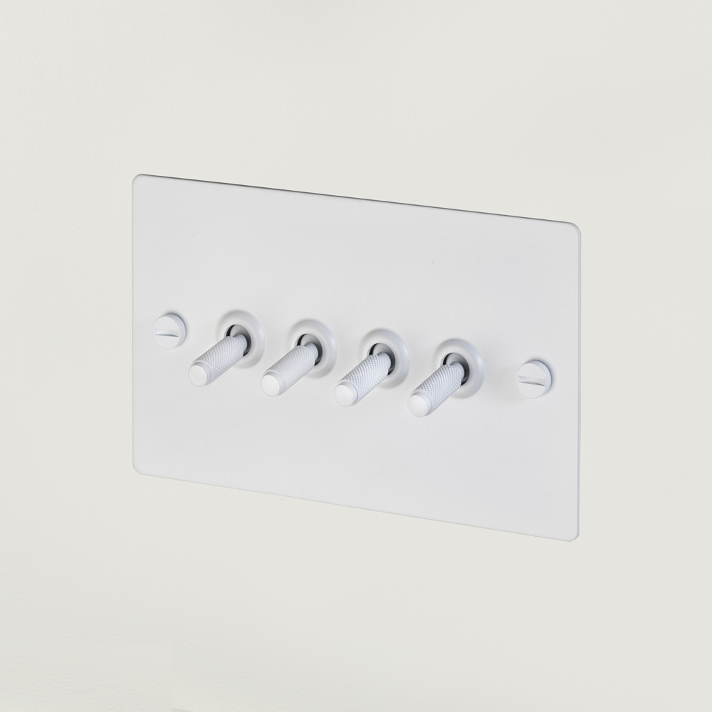 4G TOGGLE SWITCH / WHITE