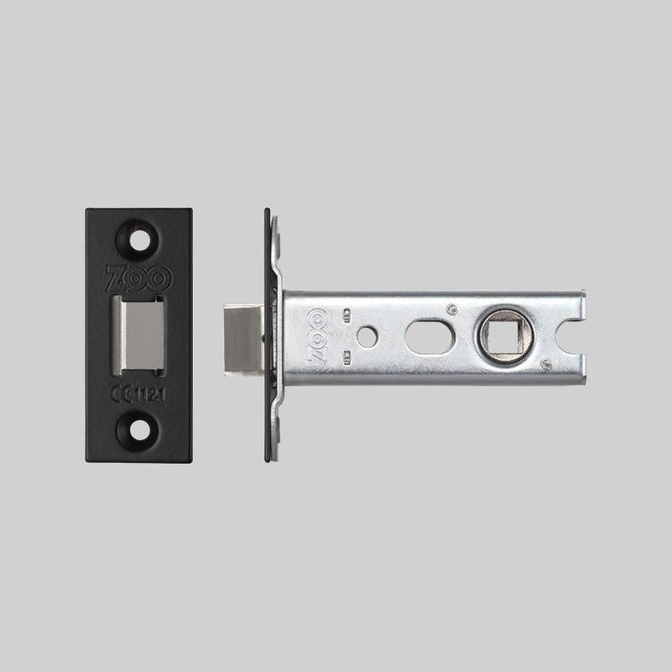 Buster + Punch / Door lever handle latch / Black plate
