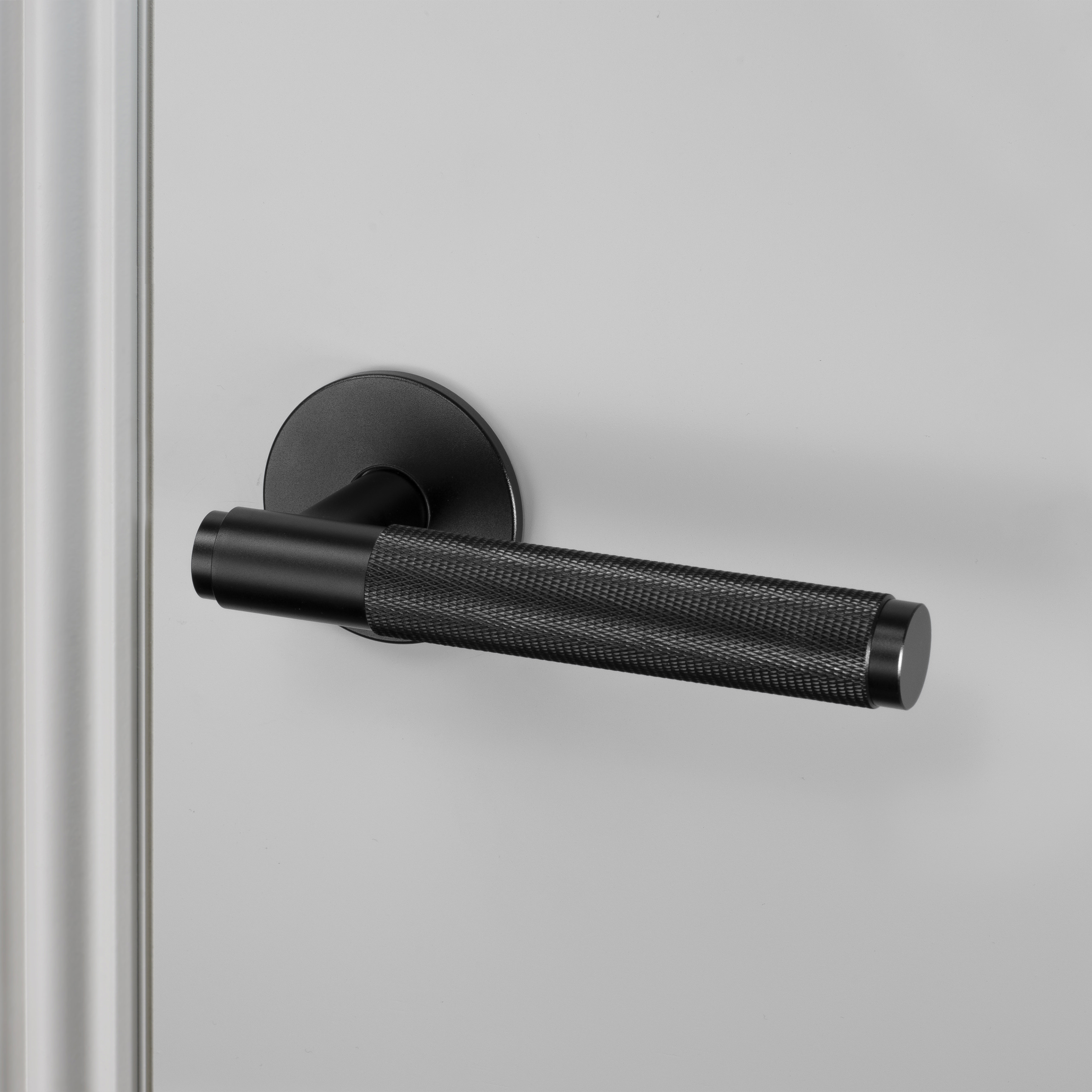 DOOR LEVER HANDLE / BLACK