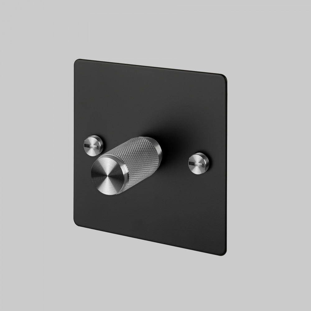 1G DIMMER / BLACK / STEEL