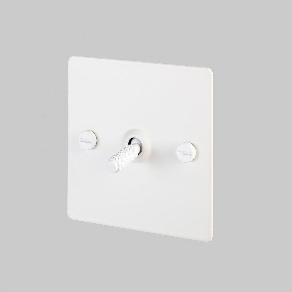 1G TOGGLE SWITCH / WHITE