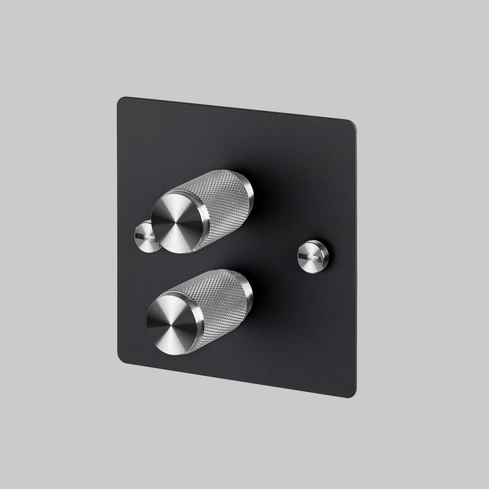 2G DIMMER / BLACK / STEEL