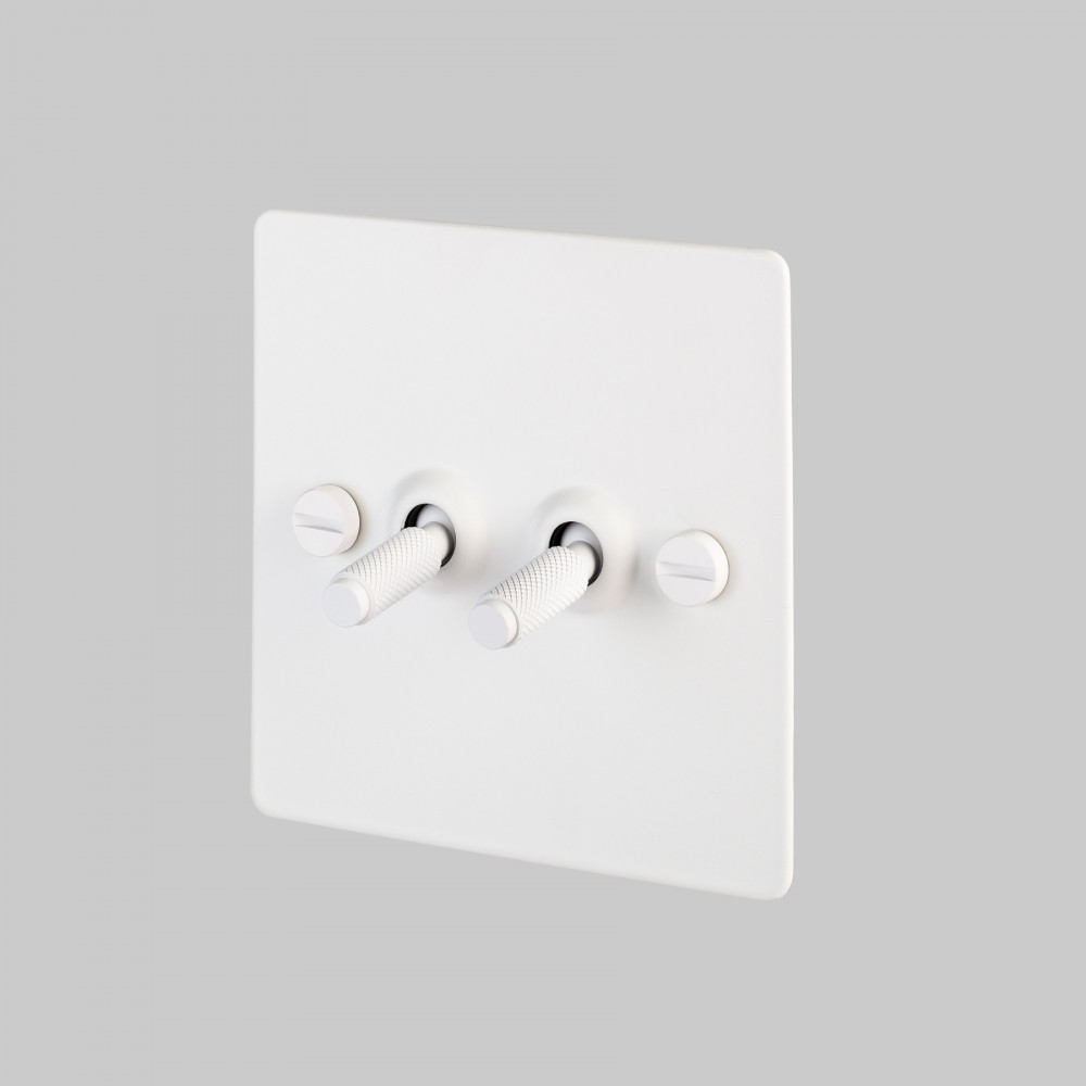 2G TOGGLE SWITCH / WHITE