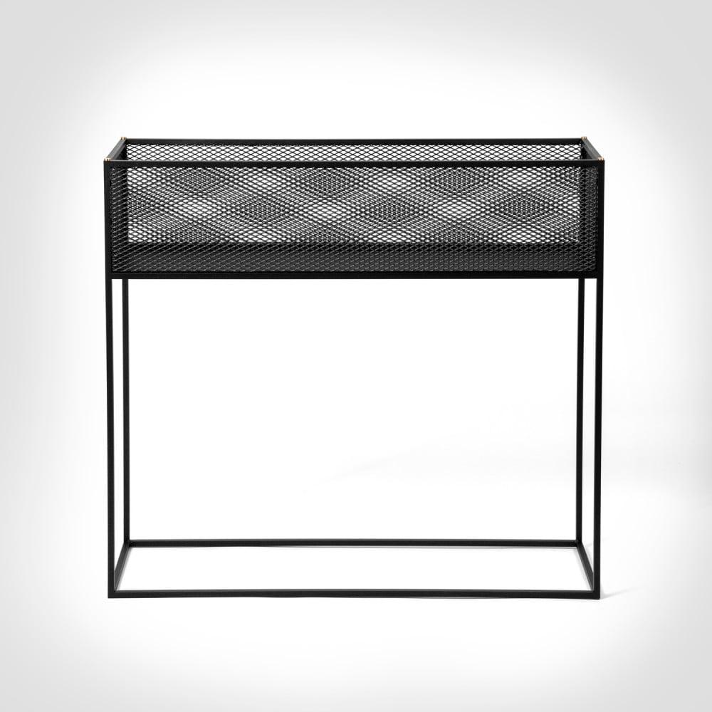 Buster + Punch / MESHED / Planter / Black metal mesh furniture