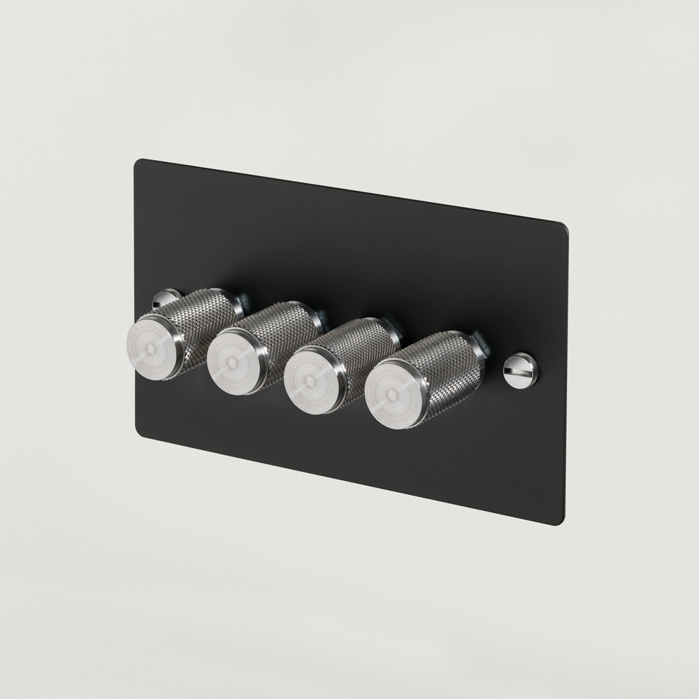 4G DIMMER / BLACK / STEEL