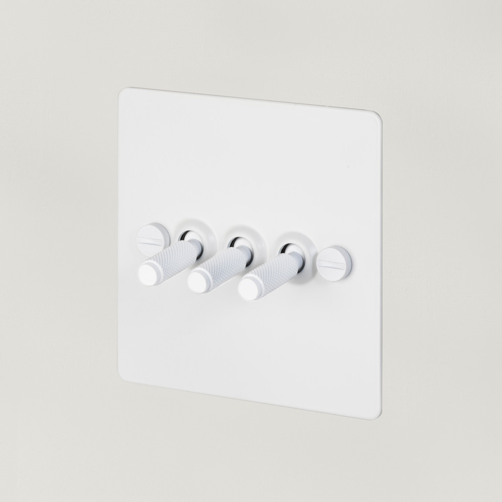 3G TOGGLE SWITCH / WHITE