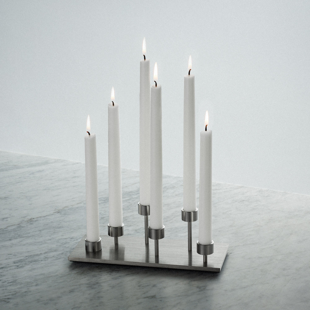 MACHINED / CANDELABRA / STEEL