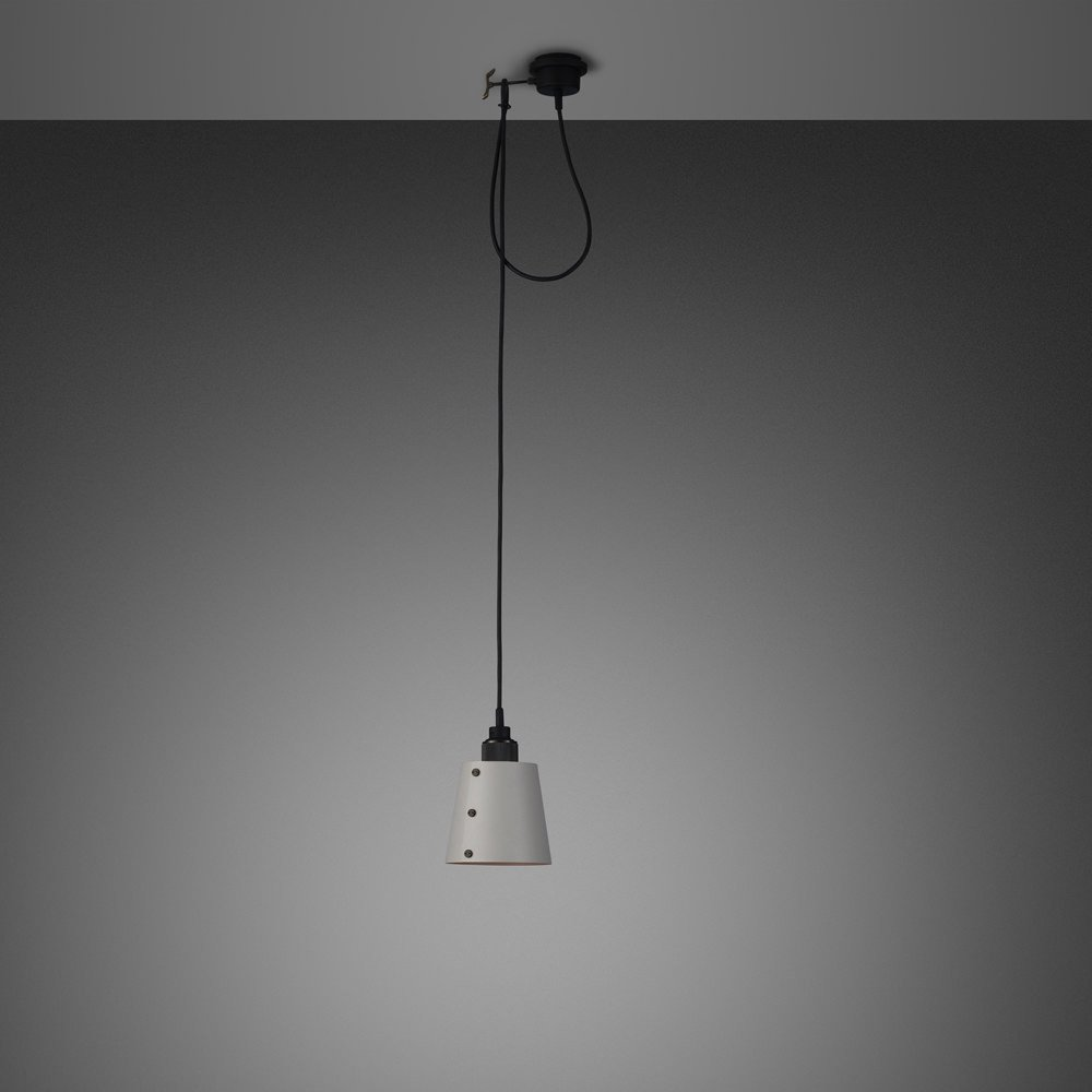 Buster + Punch / HOOKED light pendant made out of solid metal with large shade