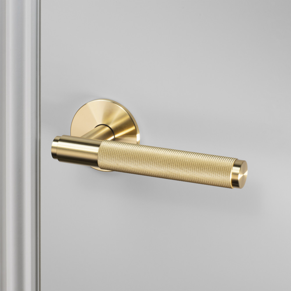 DOOR LEVER HANDLE / BRASS