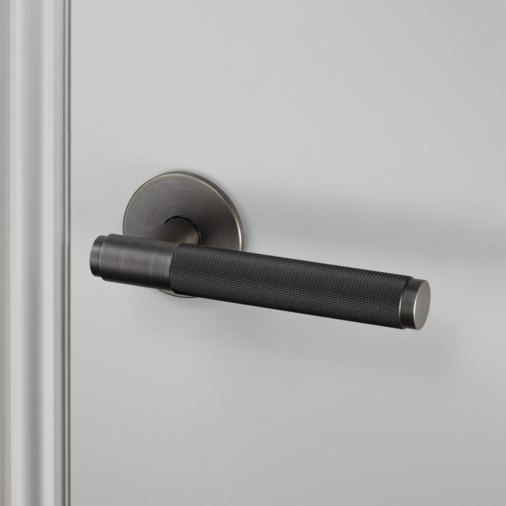 Door Lever handle in smoked bronze by Buster + Punch