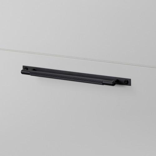 PULL BAR / PLATE / LINEAR / BLACK