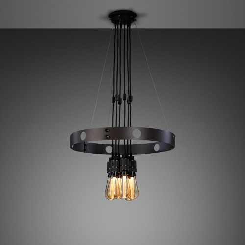 xHERO light chandelier made out of solid metal / Buster + Punch