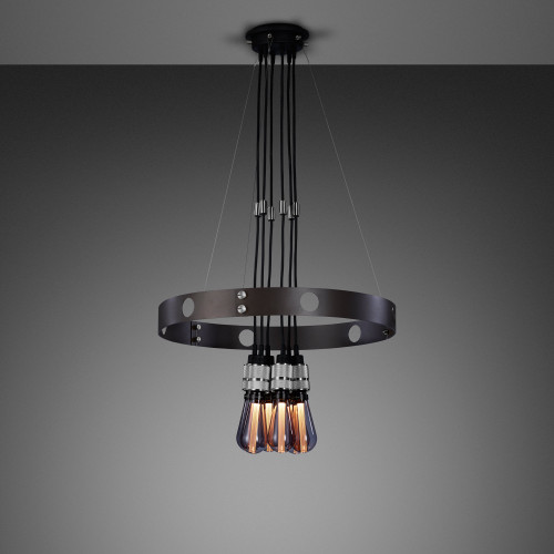 HERO light chandelier made out of solid metal / Buster + Punch