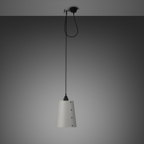 Buster + Punch / Hooked / E27 Light pendant with Large shade in stone metal