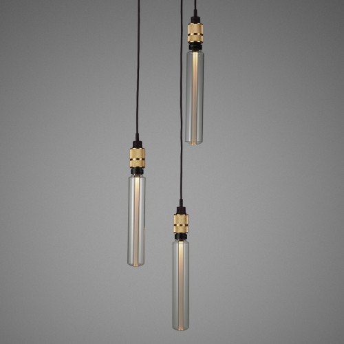 HOOKED light pendant in solid metal / Buster + Punch