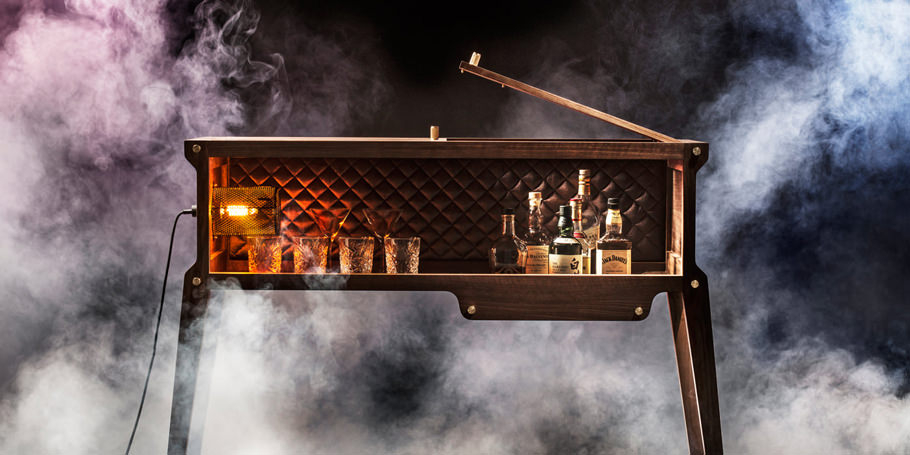 meet the ROCKSTAR whisky bar