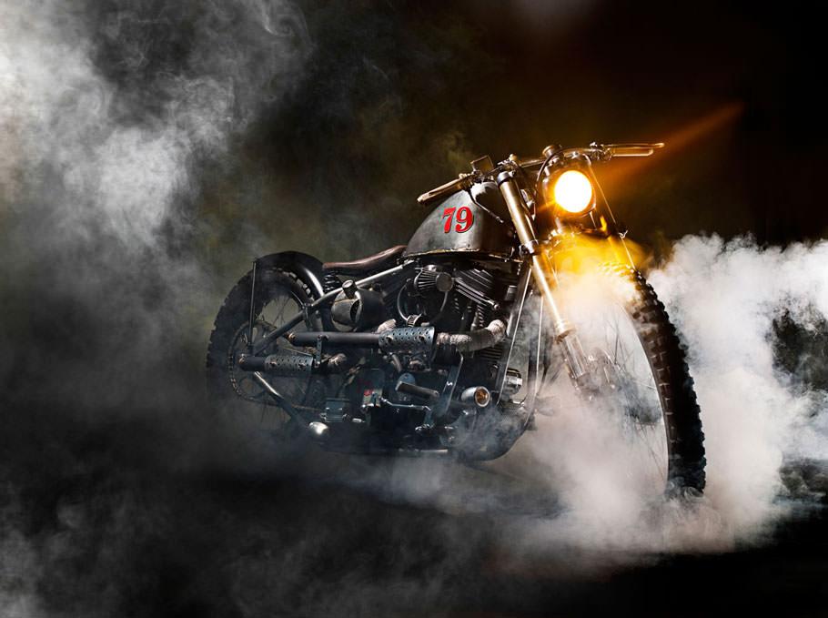 Buster + Punch Boneshaker Motorbike