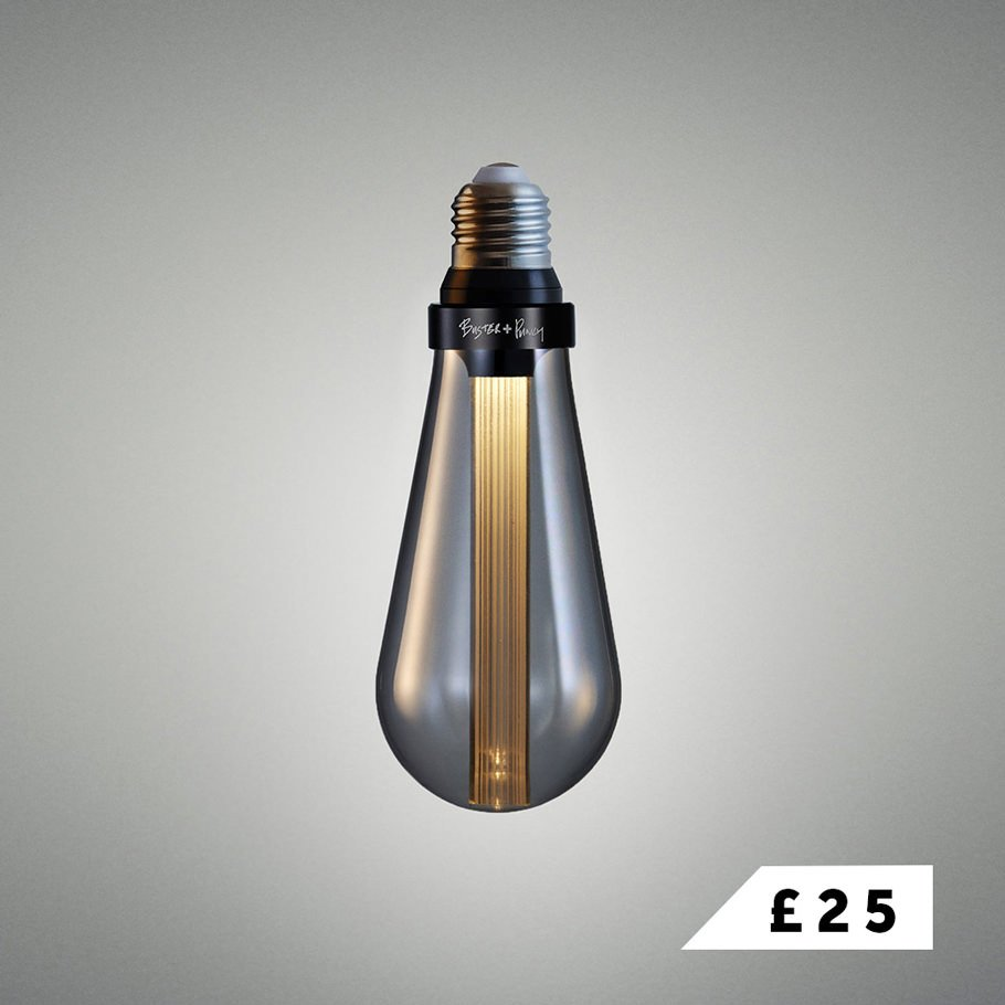 BUSTER BULB / smoked LED light bulb