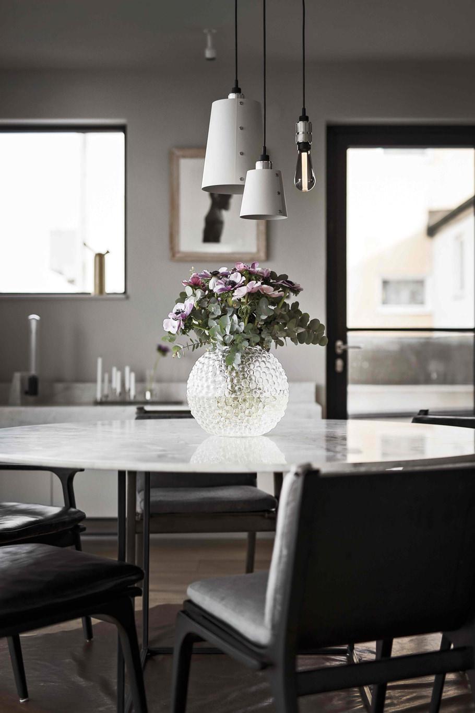 HOOKED 3.0 / Mix / Stone & Steel – Ceiling pendant lighting fixture