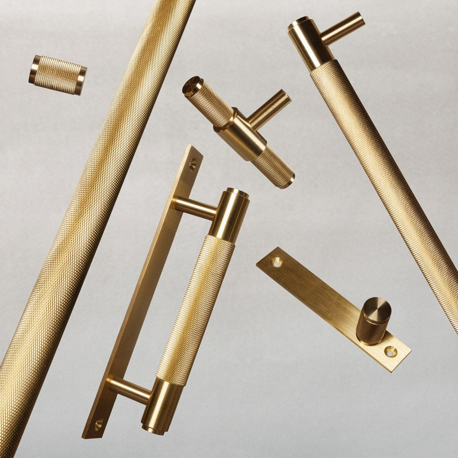 Solid metal HARDWARE kitchen handles from Buster + Punch