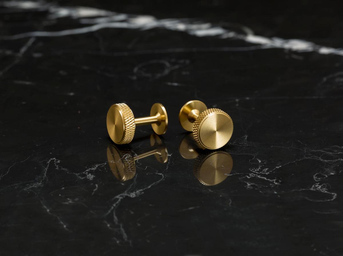 cufflink brass