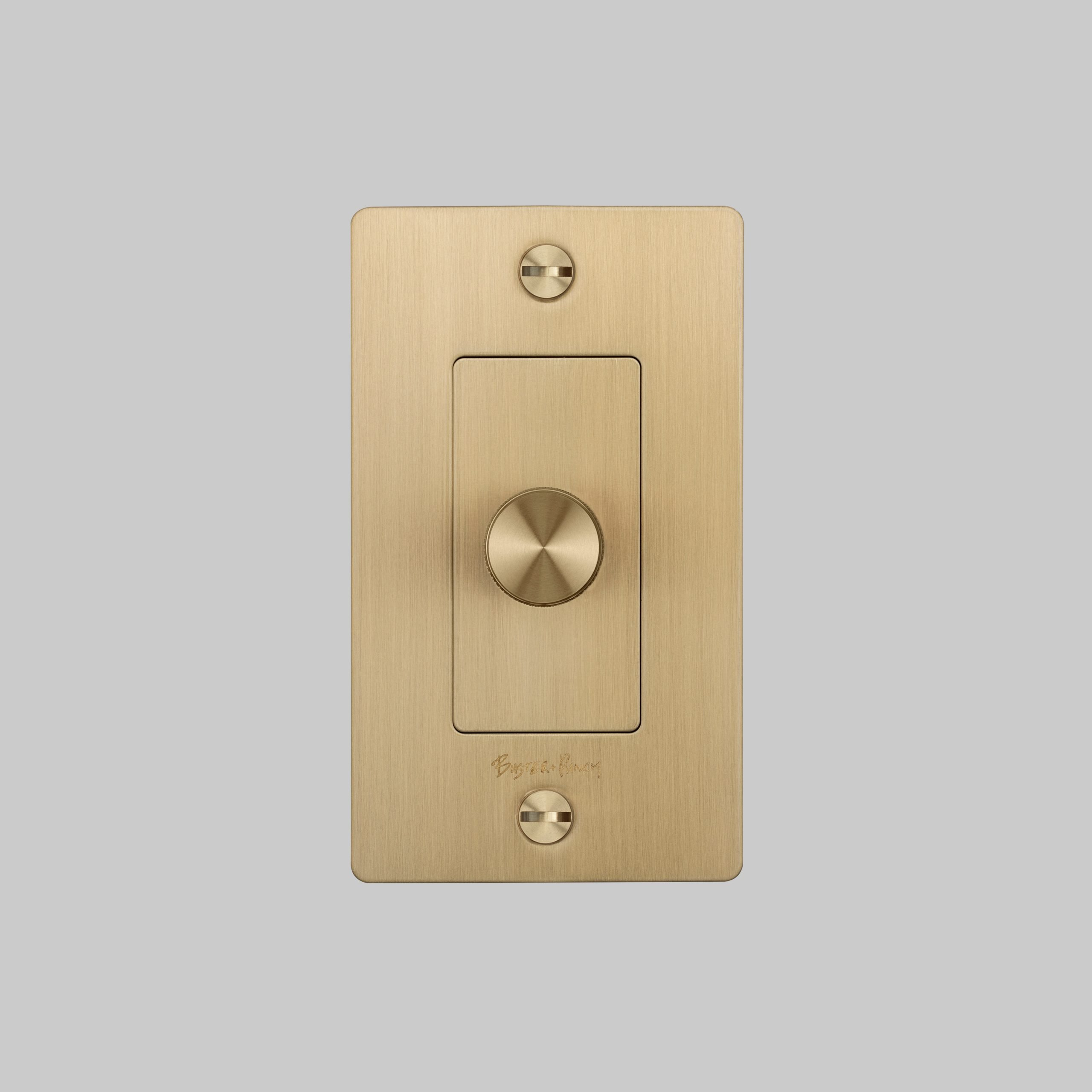 2. Buster+Punch_US_1G_Dimmer_Brass_Front