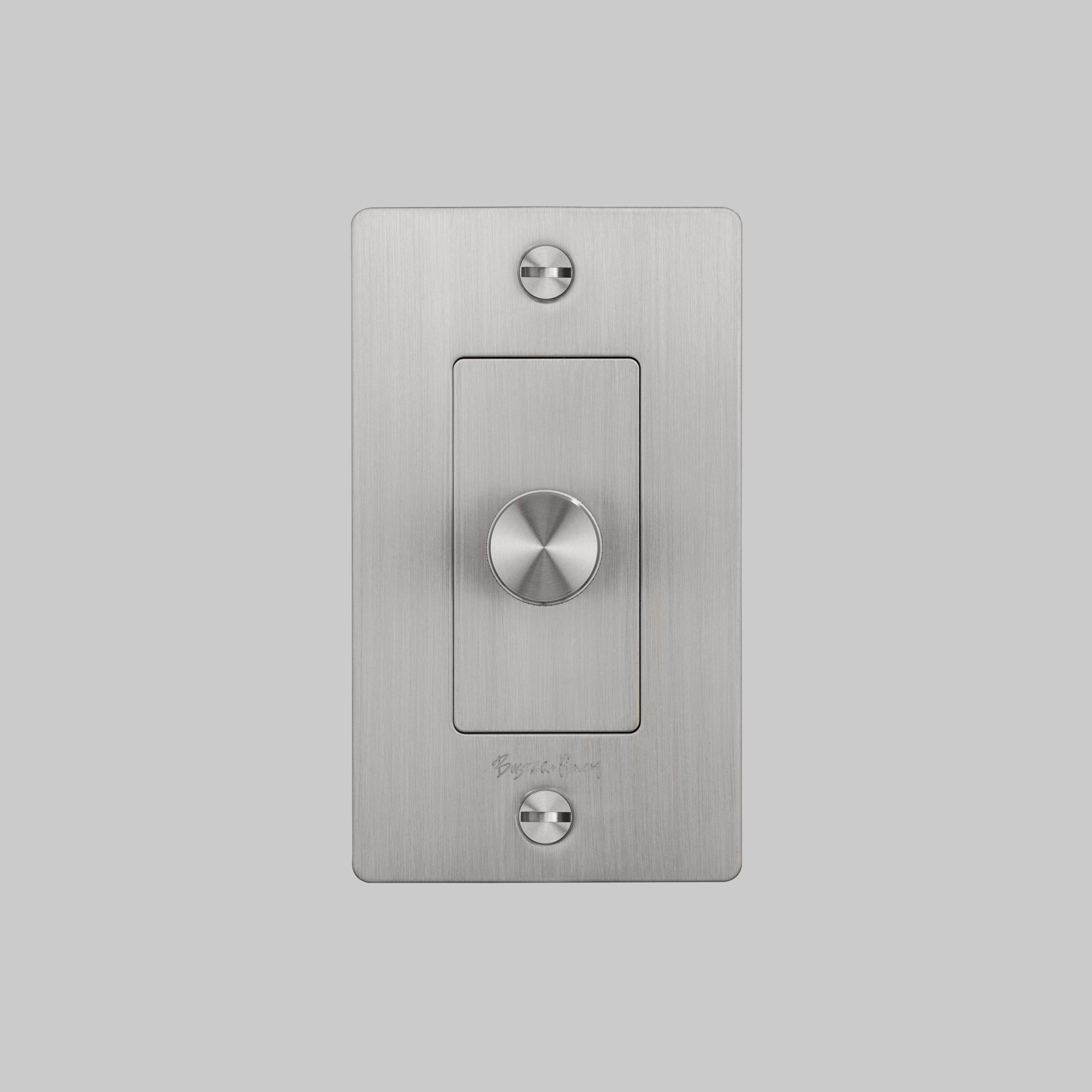 2. Buster+Punch_US_1G_Dimmer_Steel_Front