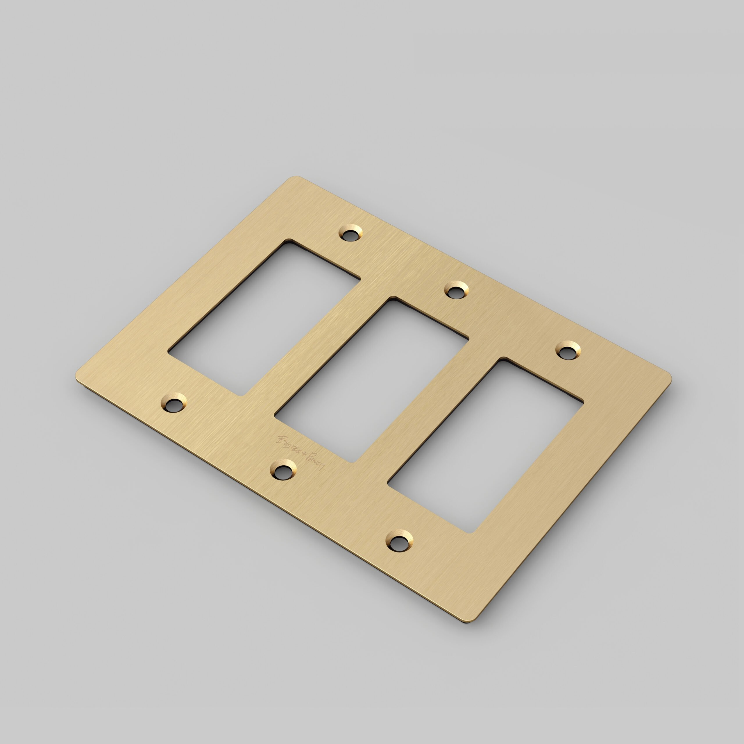 Wall Plates Buster Punch
