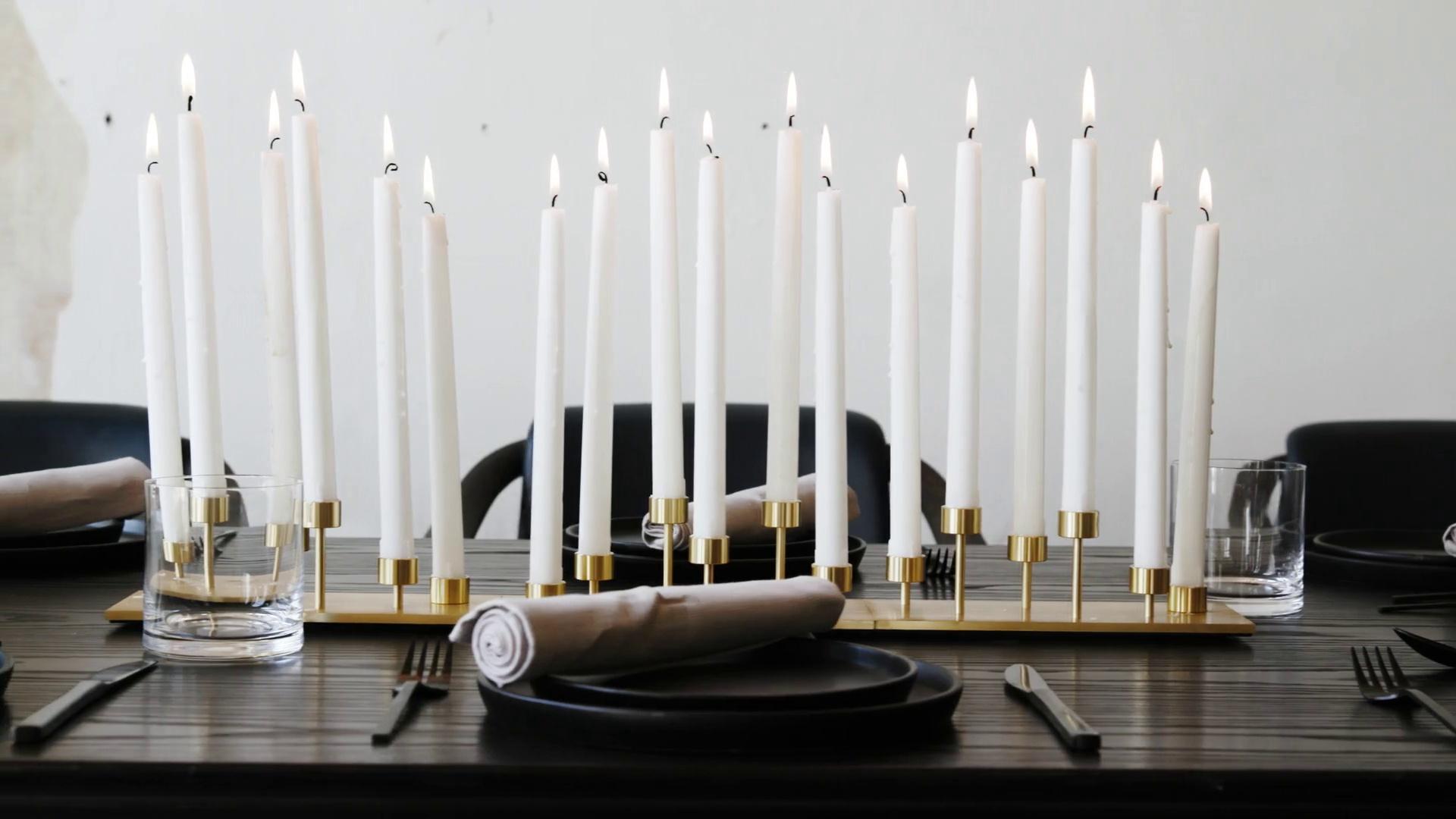 machined - candelabra