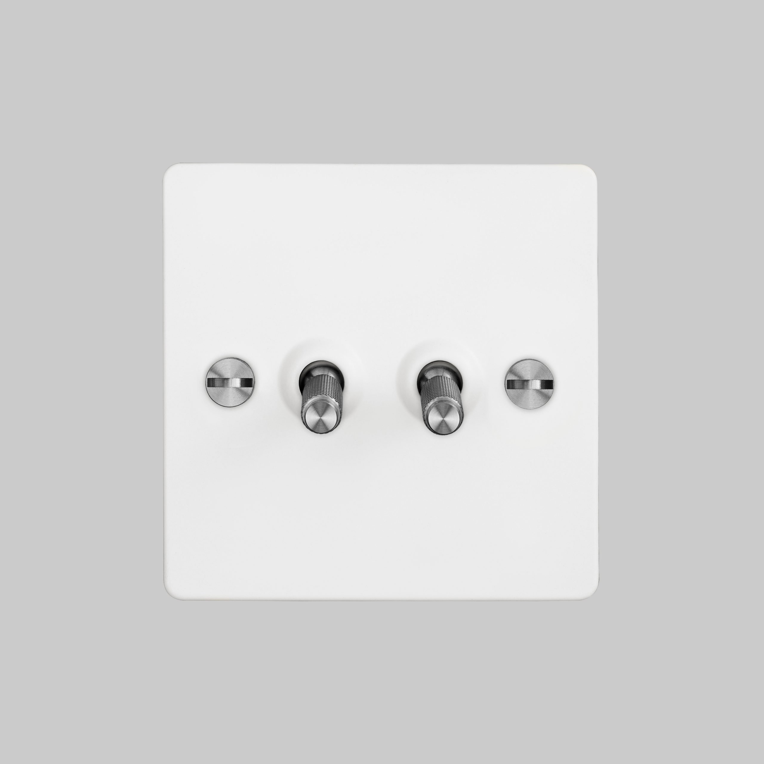 2. 2G_Toggle_Front_White_Steel