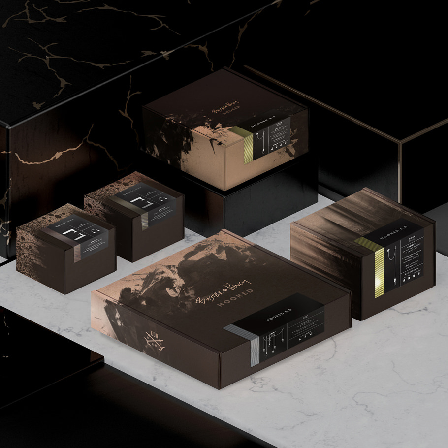 Packaging collaboration with ILOVEDUST