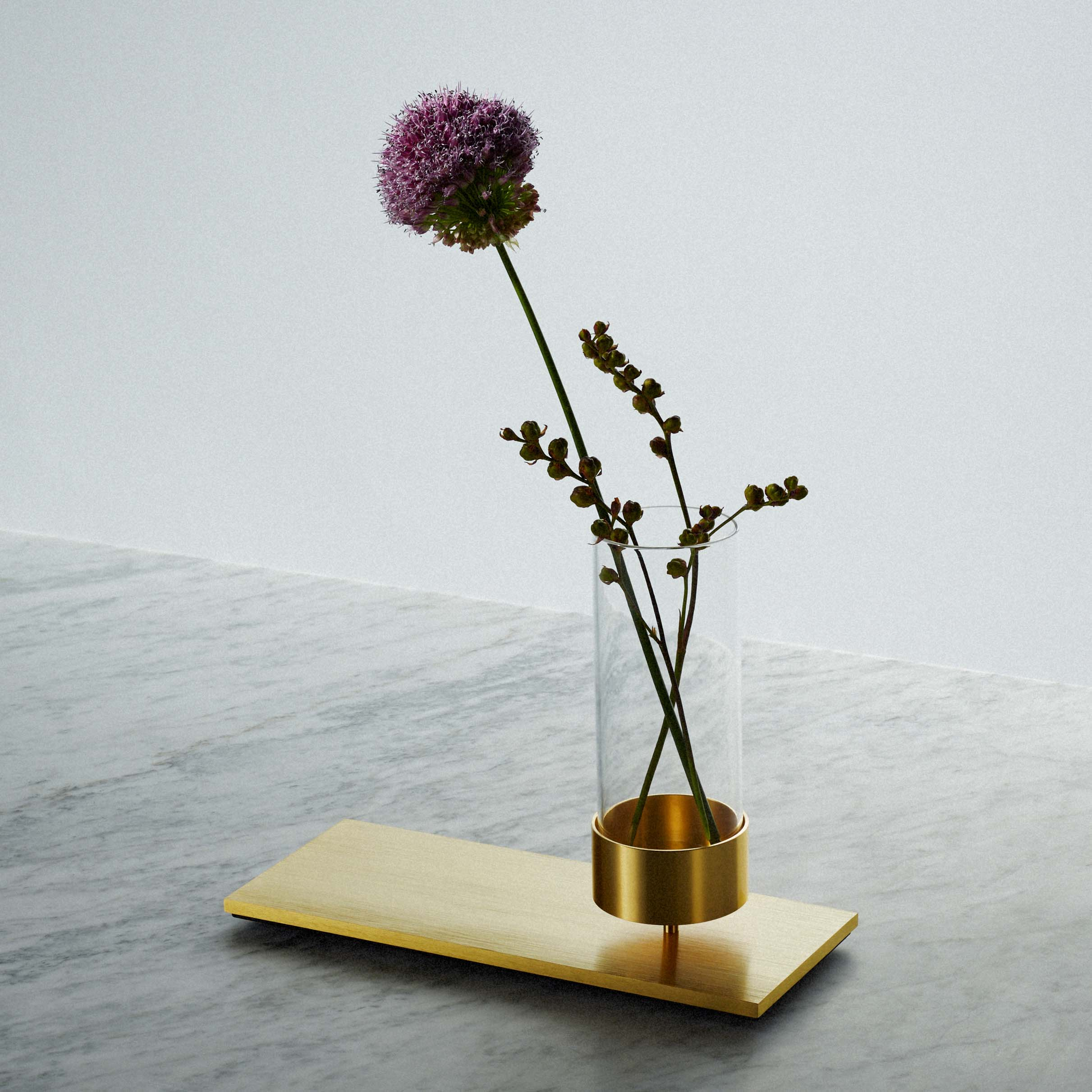 Machined Vase Brass Buster Punch